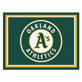 MLB - Oakland Athletics 8x10 Rug Plush Rugs