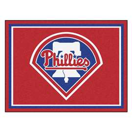 MLB - Philadelphia Phillies 8x10 Rug Plush Rugs