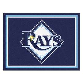 MLB - Tampa Bay Rays 8x10 Rug Plush Rugs
