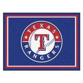 MLB - Texas Rangers 8x10 Rug Plush Rugs