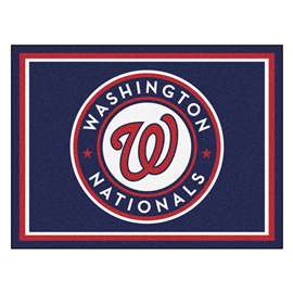 MLB - Washington Nationals 8x10 Rug Plush Rugs