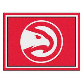 NBA - Atlanta Hawks  8x10 Rug Rug Carpet Mats