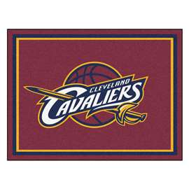 NBA - Cleveland Cavaliers 8x10 Rug Plush Rugs