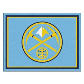 NBA - Denver Nuggets  8x10 Rug Rug Carpet Mats