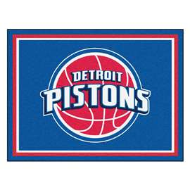 NBA - Detroit Pistons 8x10 Rug Plush Rugs