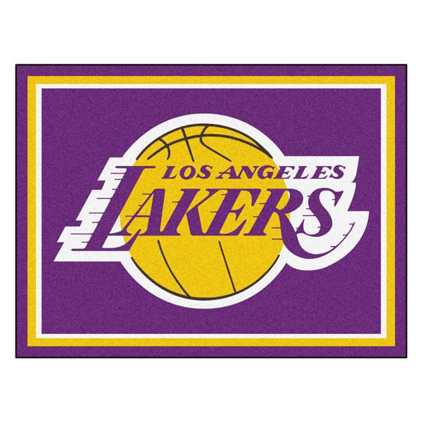 NBA - Los Angeles Lakers  8x10 Rug Rug Carpet Mats