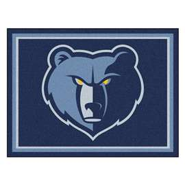 NBA - Memphis Grizzlies 8x10 Rug Plush Rugs