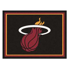 NBA - Miami Heat  8x10 Rug Rug Carpet Mats