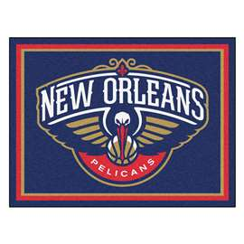 NBA - New Orleans Pelicans  8x10 Rug Rug Carpet Mats