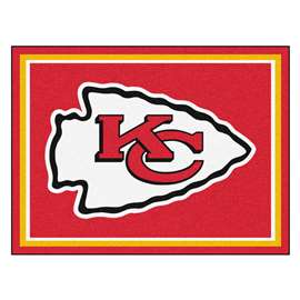 NFL - Kansas City Chiefs 8x10 Rug Plush Rugs