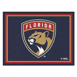 NHL - Florida Panthers Rug Carpet Mats 87 X 117 Inches