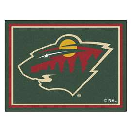 NHL - Minnesota Wild 8x10 Rug Plush Rugs