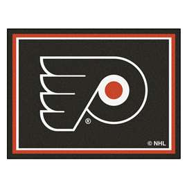 NHL - Philadelphia Flyers 8x10 Rug Plush Rugs