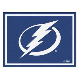 NHL - Tampa Bay Lightning Rug Carpet Mats 87 X 117 Inches
