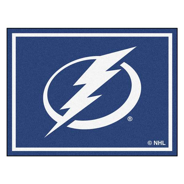 NHL - Tampa Bay Lightning 8x10 Rug Plush Rugs