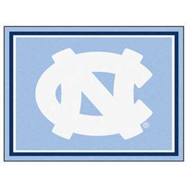 University of North Carolina - Chapel Hill 8x10 Rug Plush Rugs