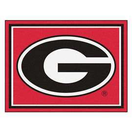 University of Georgia 8x10 Rug Plush Rugs