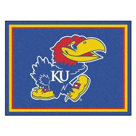 University of Kansas 8x10 Rug Plush Rugs