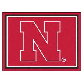 University of Nebraska  8x10 Rug Rug Carpet Mats