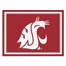 Washington State University  8x10 Rug Rug Carpet Mats
