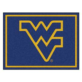 West Virginia University 8x10 Rug Plush Rugs