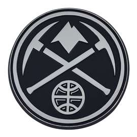 NBA - Denver Nuggets Chrome Emblem Auto Emblem