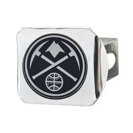 NBA - Denver Nuggets Chrome Hitch - Chrome Hitch Covers