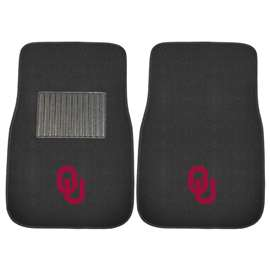 University of Oklahoma  2-pc Embroidered Car Mat Set