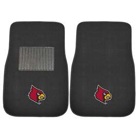 University of Louisville  2-pc Embroidered Car Mat Set