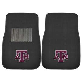 Texas A&M University  2-pc Embroidered Car Mat Set