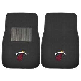 NBA - Miami Heat  2-pc Embroidered Car Mat Set