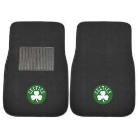 NBA - Boston Celtics  2-pc Embroidered Car Mat Set