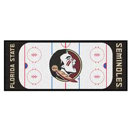 Florida State University  Rink Runner Mat, Rug , Carpet
