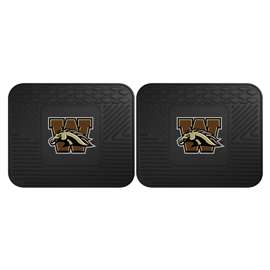 Western Michigan University  2 Utility Mats Rug Carpet Mat