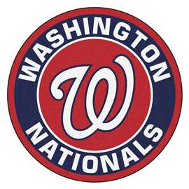 "MLB - Washington Nationals Roundel Mat 27"" diameter  Roundel Mat"