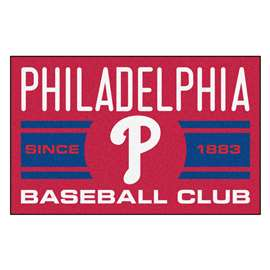 MLB - Philadelphia Phillies Starter Mat Rectangular Mats