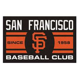 "San Francisco Giants Baseball Club Starter Rug 19""x30""  Starter Mat"