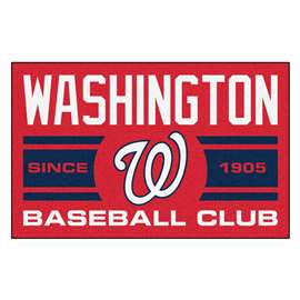 "Washington Nationals Baseball Club Starter Rug 19""x30""  Starter Mat"