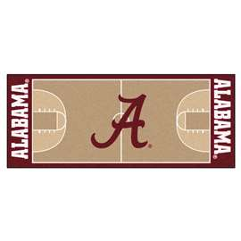 University of Alabama  NCAA Basketball Runner Mat, Carpet, Rug