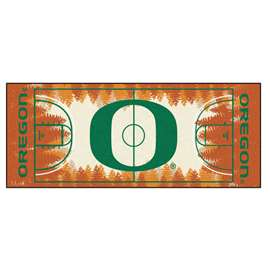 University of Oregon  NCAA Basketball Runner Mat, Carpet, Rug