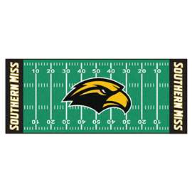 University of Southern Mississippi Football Field Runner Runner Mats