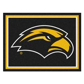 University of Southern Mississippi 8x10 Rug Plush Rugs