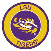 Louisiana State University  Roundel Mat Mat, Rug , Carpet