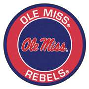 University of Mississippi (Ole Miss)  Roundel Mat Mat, Rug , Carpet