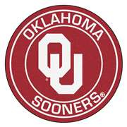 University of Oklahoma  Roundel Mat Mat, Rug , Carpet