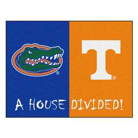 House Divided: Florida / Tennessee  House Divided Mat Rug, Carpet, Mats