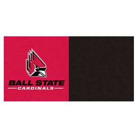 Ball State University  Team Carpet Tiles Rug, Carpet, Mats