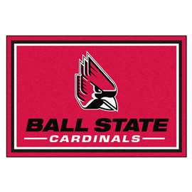 Ball State University 5x8 Rug Plush Rugs