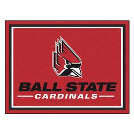 Ball State University 8x10 Rug Plush Rugs