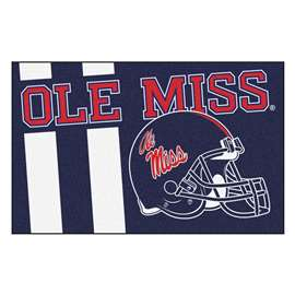 University of Mississippi (Ole Miss)  Starter Mat Mat, Rug , Carpet